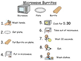 Microwave Burrito Visual Recipe