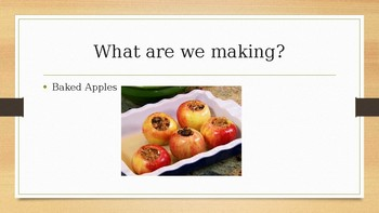 Microwave Cooking; Baked Apples
