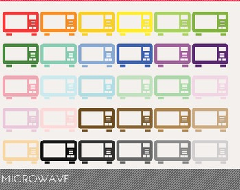 Microwave Digital Clipart, Microwave Graphics, Microwave PNG