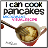 Microwave Visual Recipe: Pancake Special Education
