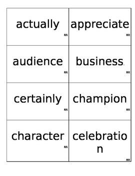 Mid 2nd Grade Sight Words