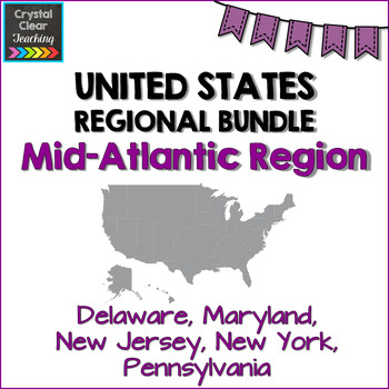 Mid-Atlantic State Region Bundle