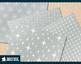 Mid-Century-modern 1950s atomic starburst digital paper, retro atomic designs