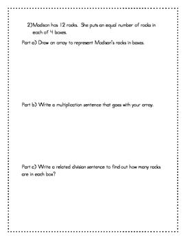 Mid-Module 1 Review Sheet - Grade 3