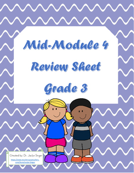 Mid-Module 4 Review Sheet
