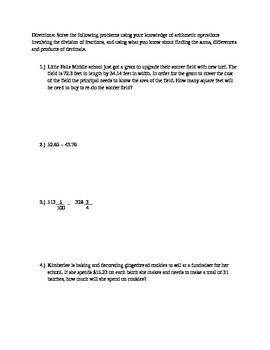 6th Grade Module 2 Mid-Module Assessment Review Packet