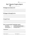 Mid-Quarter Self-Progress Report --  Student Self-Assessme
