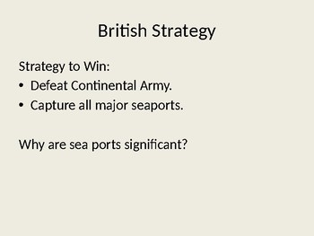Mid War Powerpoint