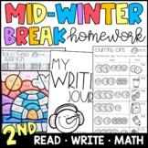 Mid Winter Break/Presidents Day Homework Packet {PRINT & G