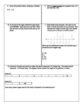 Mid-Year 5th Grade Math Review