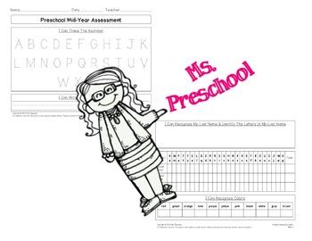 Mid-Year Preschool Assessment