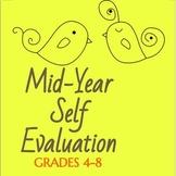 Mid-Year Self Evaluation