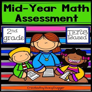 FREE Mid-Year TEKS Based 2nd Grade Math Assessment