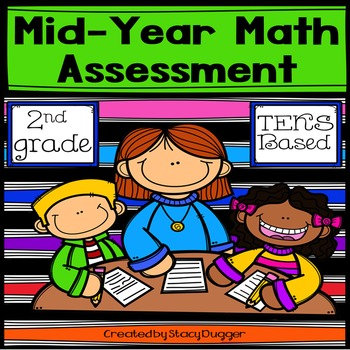 FREE Mid-Year TEKS Based 2nd Grade Math Assessment