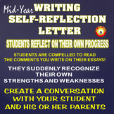 Mid-Year Writing Self-Reflection Letter