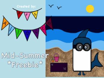 Mid-summer clip art freebie