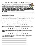 Mid-year Parent Survey