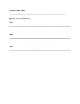 Mid-year Self-Evaluation