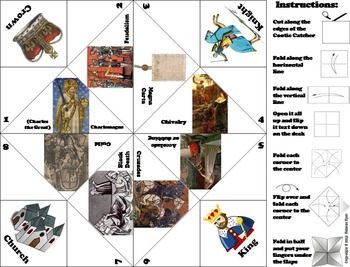 The Middle Ages Activity/ Feudal Medieval Europe Activity - Feudalism