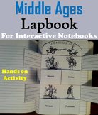 The Middle Ages Interactive Notebook (Feudal Medieval Europe Activity) Feudalism