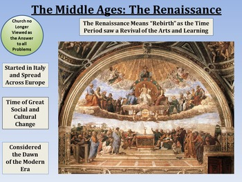 Middle Ages Unit & Resource Bundle PowerPoint