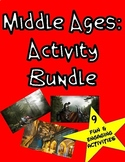 Middle Ages Activity Bundle