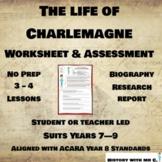 Charlemagne - Middle Ages Assessment Task - Medieval Europe