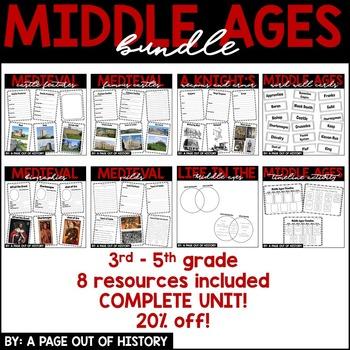 Middle Ages BUNDLE!