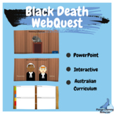 Middle Ages Black Death PowerPoint WebQuest with Bonus Fre