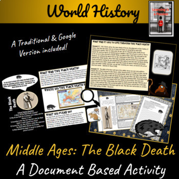 Middle Ages: Black Death Primary Source Student Activity