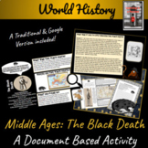 Middle Ages: Black Death Primary Source Student Activity (Distance Learning)