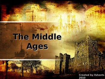 World History - Middle Ages Bundle - Complete Unit - Print and Present