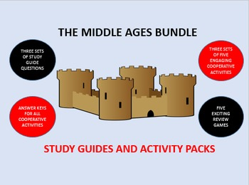 The Middle Ages Bundle: Study Guides and Activity Packs
