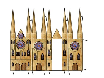 Middle Ages - Cathedral Model