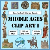 Middle Ages Clip Art I