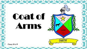 Middle Ages Coat of Arms  What's in my Last Name? PowerPoi
