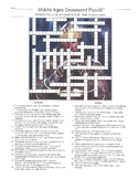 Middle Ages Crossword Puzzle