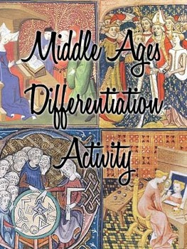Middle Ages Differentiation Activity