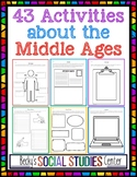 Interactive Notebook for the  Middle Ages: 43 Student-Centered Activities