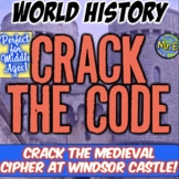 Middle Ages Escape Room: Crack Polyibus Cipher at Windsor Castle!  Tons of fun!