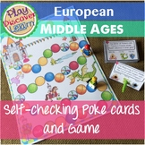 Middle Ages European Game & Task Cards / Poke Cards