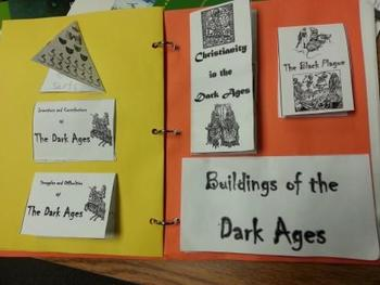 Middle Ages Foldable
