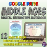 Middle Ages Digital Interactive Notebook