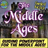Middle Ages Notes: Guided Notes & PPT for Medieval Europe, Feudalism, & MORE!