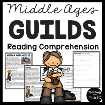 Middle Ages Guilds Article and Questions World and Europea