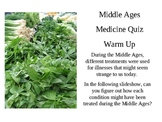 Middle Ages - Herbal Cures and Fallacies