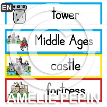 Middle Ages - Illustrated Word Wall (69)
