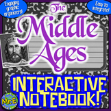Middle Ages Interactive Notebook!  Feudalism, Charlemagne, Magna Carta, & More!