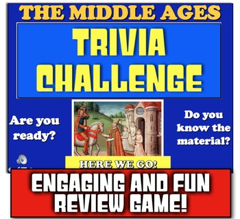 Middle Ages Review! Students Play Jeopardy-like Game to Review Medieval Times!