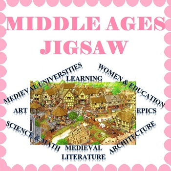 Middle Ages Jigsaw Activity